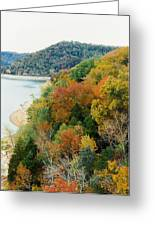 Colors Of A Tennessee Fall Greeting Card