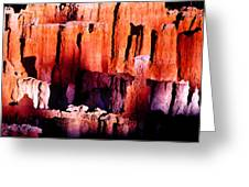 Colors Of Bryce Greeting Card