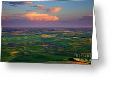 Colors Of The Palouse Greeting Card