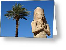 Colossus Of Ramses Ll Greeting Card