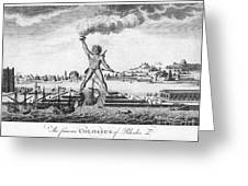 Colossus Of Rhodes Greeting Card