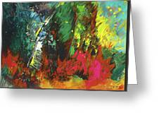 Colours Symphony Greeting Card