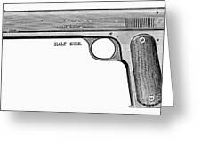 Colt Automatic Pistol Greeting Card