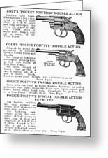 Colt Revolvers Greeting Card