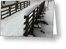 Columbia County Bridge Greeting Card