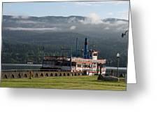 Columbia River Gorge Sternwheeler Greeting Card