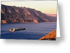 Columbia River Greeting Card