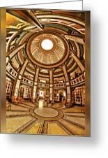 Colvmbarivm Main Room Greeting Card