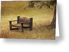Come And Sit A Spell Greeting Card