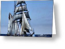 Come Sail With Me Greeting Card