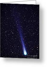 Comet Hyakutake Greeting Card
