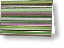 Comfortable Stripes Lv Greeting Card