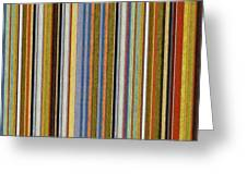 Comfortable Stripes Vlll Greeting Card