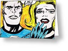 Comic Strip Greeting Card