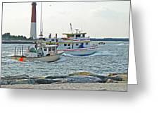Coming Home - Barnegat Inlet Nj Greeting Card