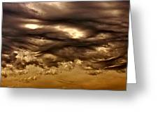 Coming Storm Greeting Card