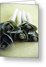 Common Leeks Greeting Card