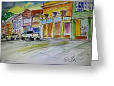 Company Street Greeting Card