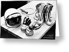 Components Of The Mercury Spacesuit Greeting Card