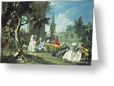 Concert In A Garden Greeting Card