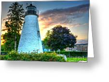 Concord Point Lighthouse 2 Greeting Card