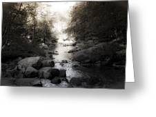Concord River Greeting Card