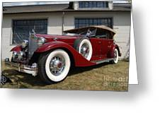 Concours D ' Elegance 1 Greeting Card