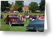 Concours D' Elegance 4 Greeting Card