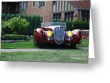 Concours D'elegance 10 Greeting Card
