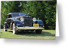 Concours D'elegance 11 Greeting Card