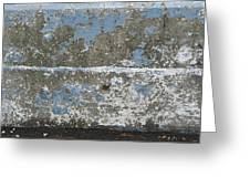 Concrete Blue 2 Greeting Card
