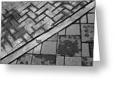 Concrete Tile - Abstract Greeting Card