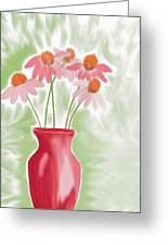 Coneflower Still Life Greeting Card