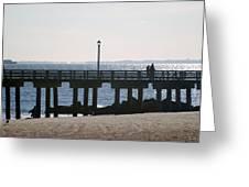Coney Island Coast Greeting Card
