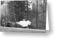 Confederate Breastworks Carnifax Ferry Greeting Card