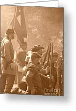 Confederate Breastworks Carnifex Ferry Greeting Card by Thomas R Fletcher
