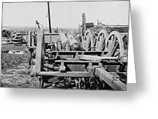 Confederate Cannon Greeting Card