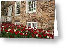 Conference House In Tottenville Greeting Card