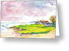 Connecticut Shore Greeting Card
