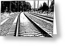 Conneticut Railway Greeting Card