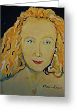 Connie Crothers Greeting Card by Jay Manne-Crusoe