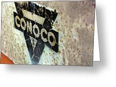 Conoco Greeting Card