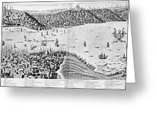 Constantinople, 1713 Greeting Card