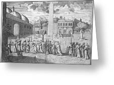 Constantinople, 1727 Greeting Card