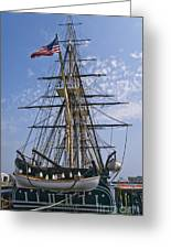 Constitution Stern Greeting Card