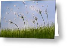 Contemporary Landscape Art Make A Wish By Amy Giacomelli Greeting Card