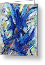 Contemporary Painting Six Greeting Card