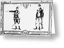 Continental Army Greeting Card