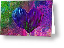 Contours Of The Heart Greeting Card