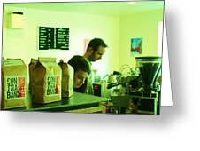 Contraband Coffee Greeting Card